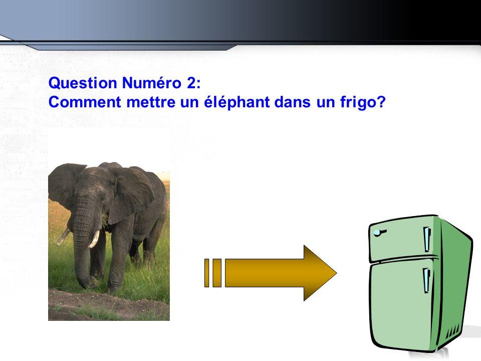 comment mettre elephant frigo