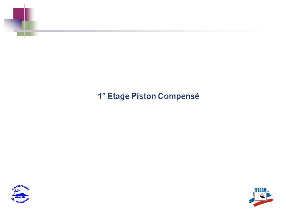 1° Etage Piston Compensé