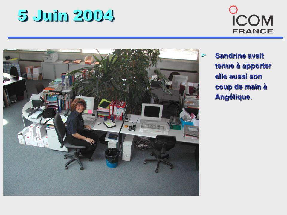 5 Juin 2004 F Léquipe « Plancha » a été très efficace et dans la bonne humeur.