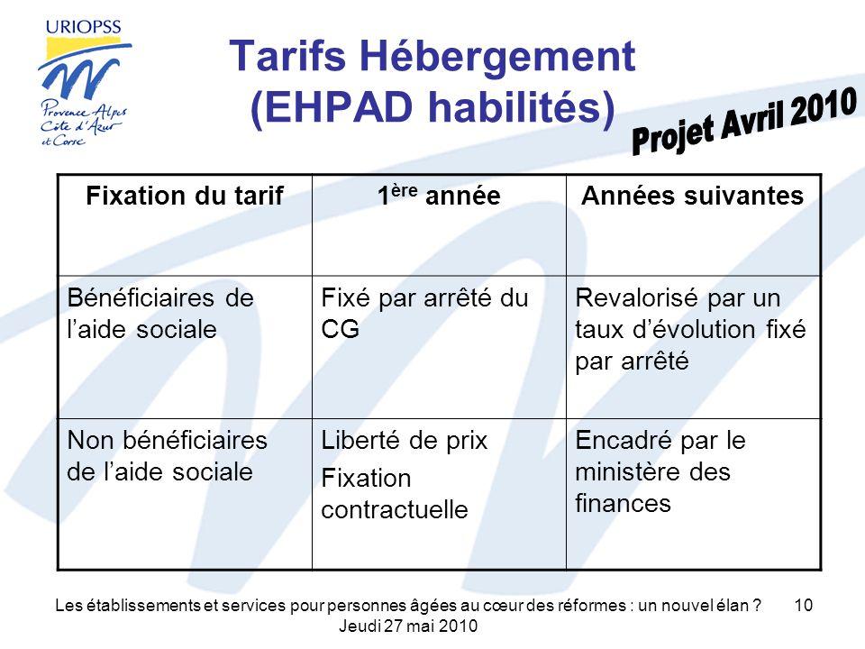 Les établissements et services pour personnes âgées au cœur des réformes : un nouvel élan .