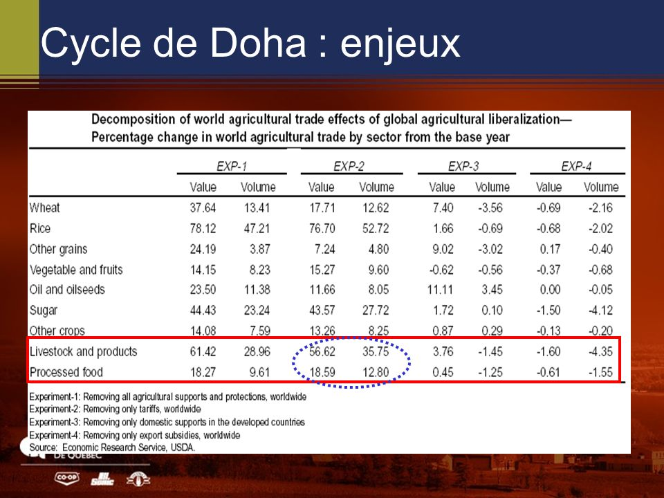 Cycle de Doha : enjeux