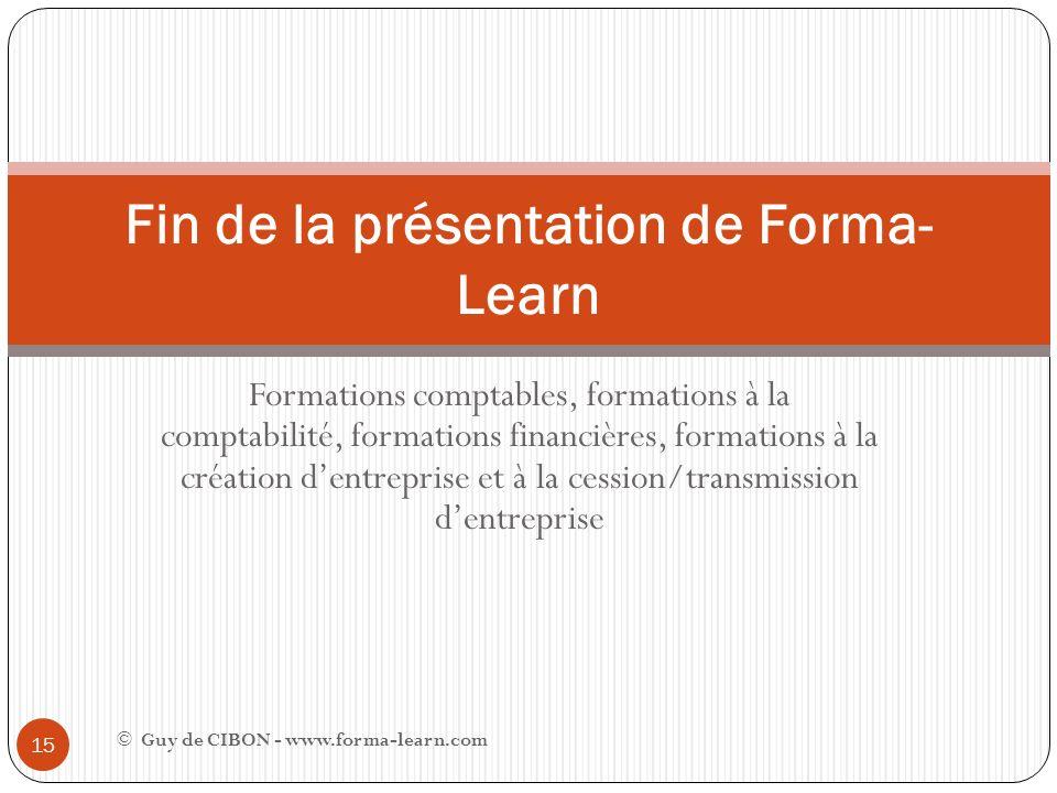 Formations comptables, formations à la comptabilité, formations financières, formations à la création dentreprise et à la cession/transmission dentrep
