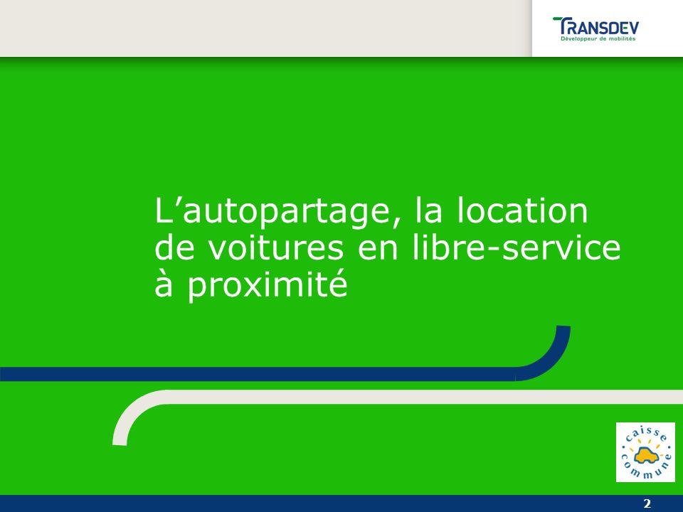 2 Lautopartage, la location de voitures en libre-service à proximité