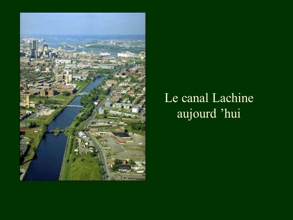 Le canal Lachine aujourd hui