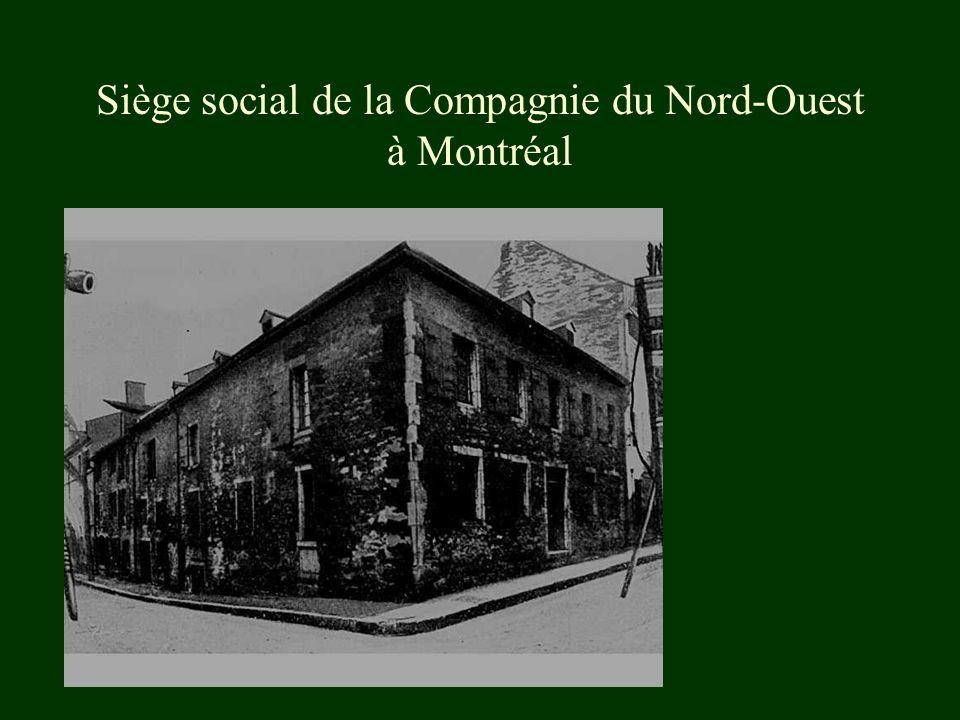 « Hudson Bay Company », la plus vieille entreprise au Canada *1821: Fusion de la Compagnie du Nord-Ouest avec la Compagnie de la Baie d Hudson