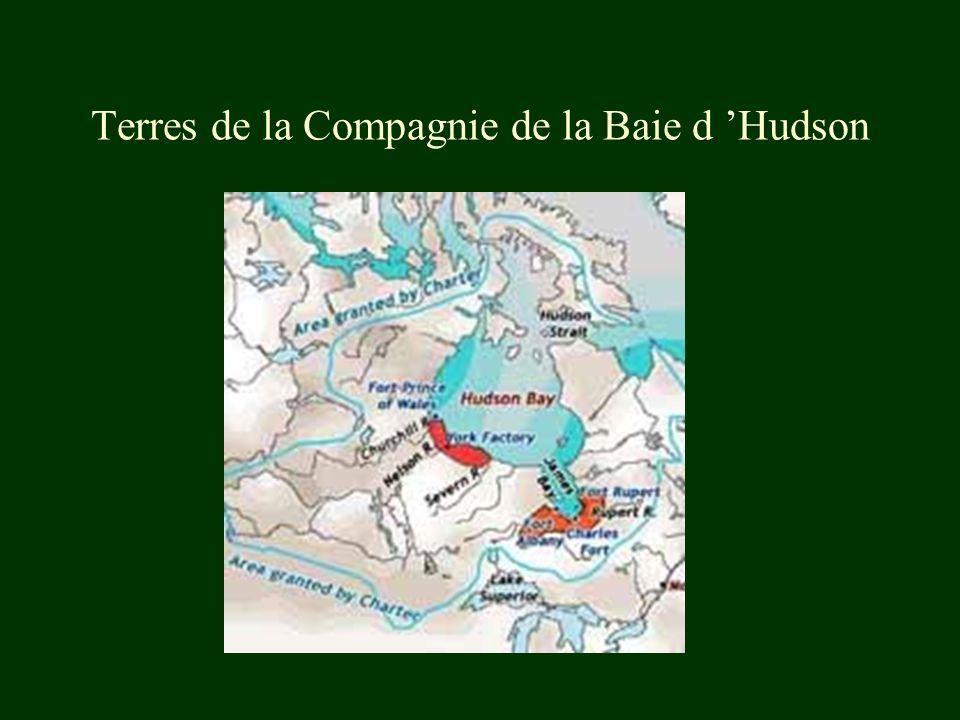 Terres de la Compagnie de la Baie d Hudson