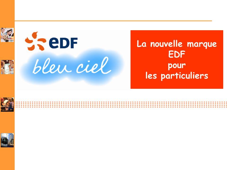 La nouvelle marque EDF pour les particuliers