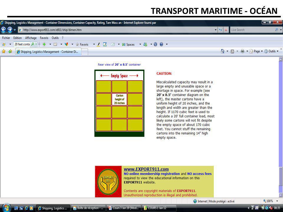 INSIDE CONTAINER CALCULATION