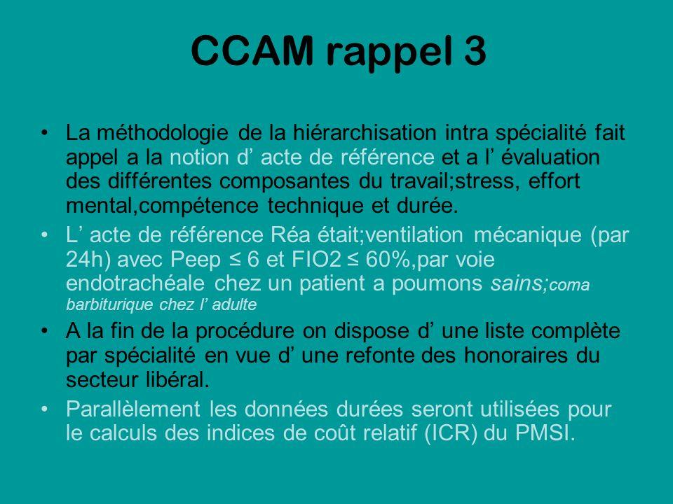 La méthodologie de la hiérarchisation intra spécialité fait appel a la notion d acte de référence et a l évaluation des différentes composantes du tra