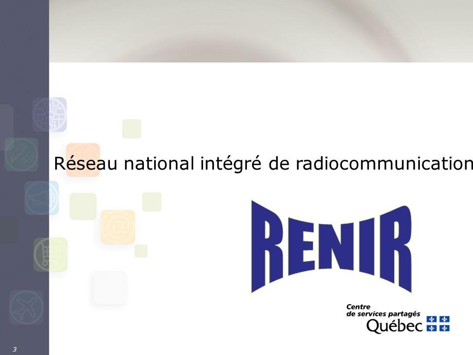 3 Réseau national intégré de radiocommunication