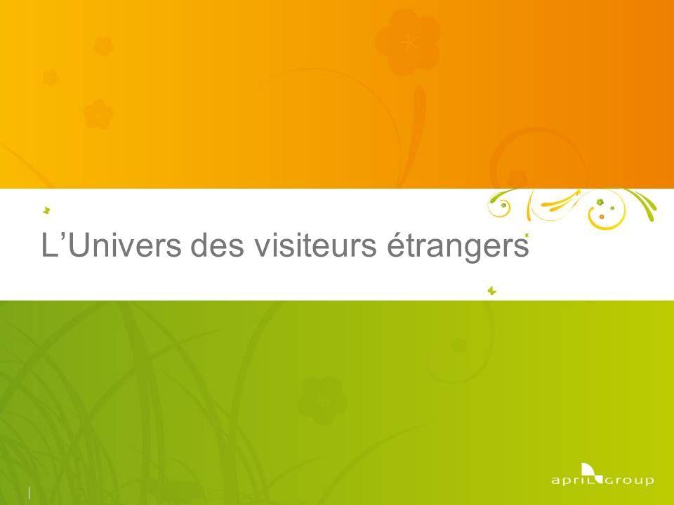 LUnivers des visiteurs étrangers