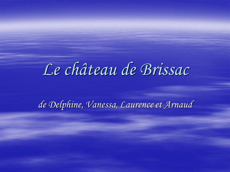 Le château de Brissac de Delphine, Vanessa, Laurence et Arnaud