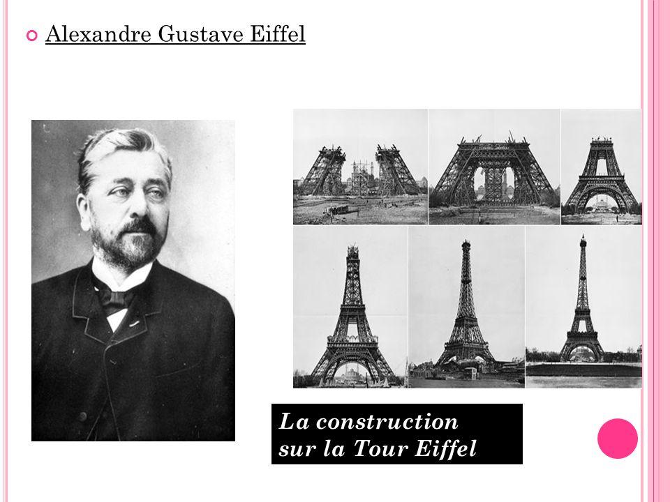 À La Tour Eiffel : vue générale