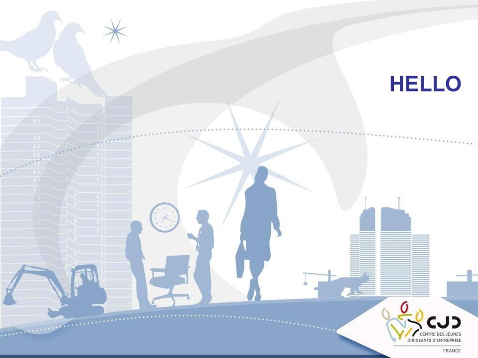 8 Une seule adresse : www.hello.cjd.net pourwww.hello.cjd.net Partager des documents Mettre en ligne son agenda Mais également piocher pleins doutils et de bonnes idées dans le réseau, A CHACUN DE JOUER LE JEU EN ALIMENTANT SES PROPRES INFOS !