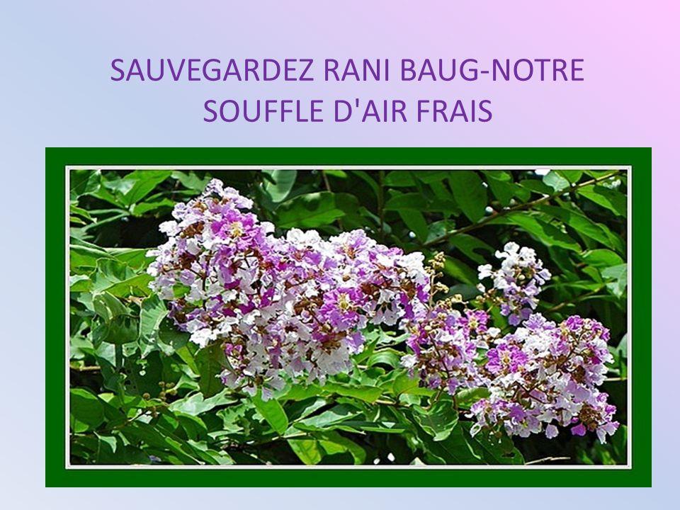 SAUVEGARDEZ RANI BAUG-NOTRE SOUFFLE D AIR FRAIS