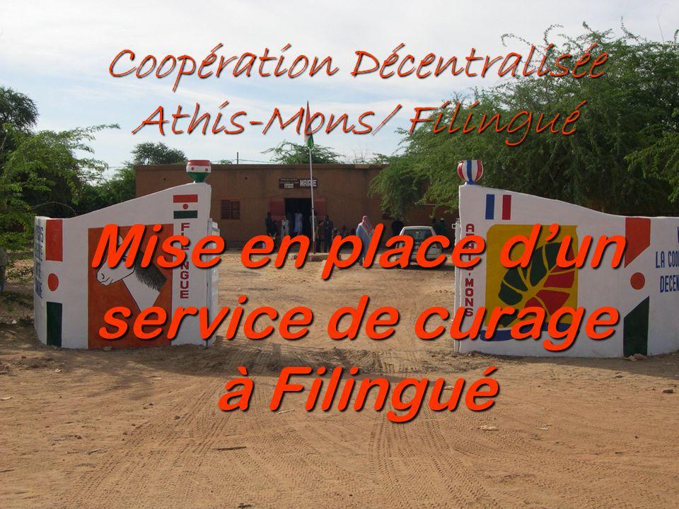 1 Coopération Décentralisée Athis-Mons/ Filingué Mise en place dun service de curage à Filingué