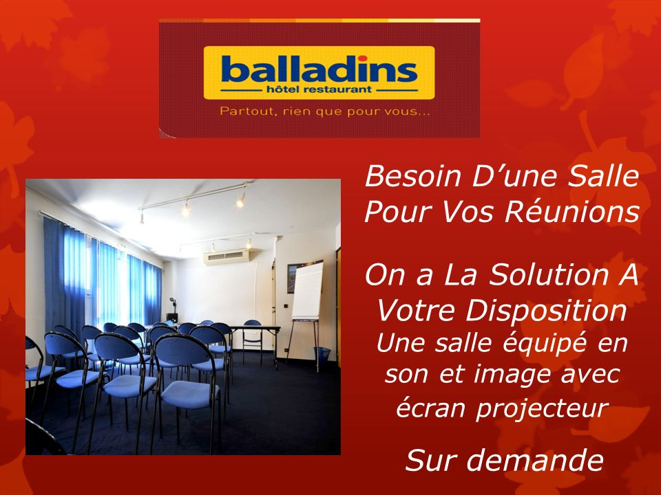 Le restaurant Petit Déjeuner Du Lundi au Dimanche Dejeuner ou Diner Du Lundi au Jeudi Tarifs Sportif 5 Euros Tarifs Sportif 12 Euros