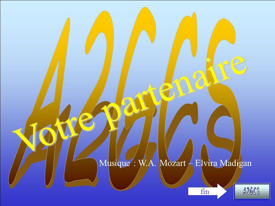 V o t r e p a r t e n a i r e fin Musique : W.A. Mozart – Elvira Madigan