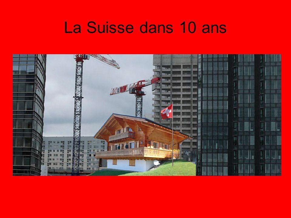 La Suisse dans 10 ans