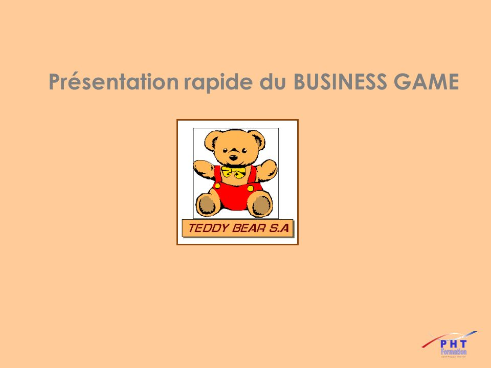 Sur un marché fictif de produits de consommation (GSA, GSB, GSS, ….) ….
