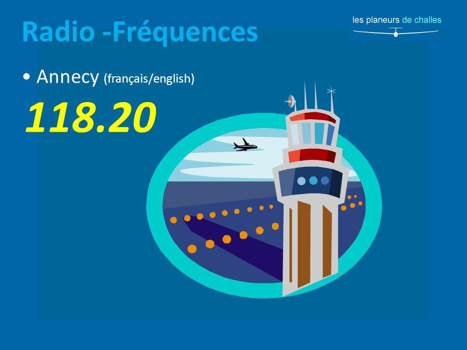 Radio -Fréquences Annecy (français/english) 118.20