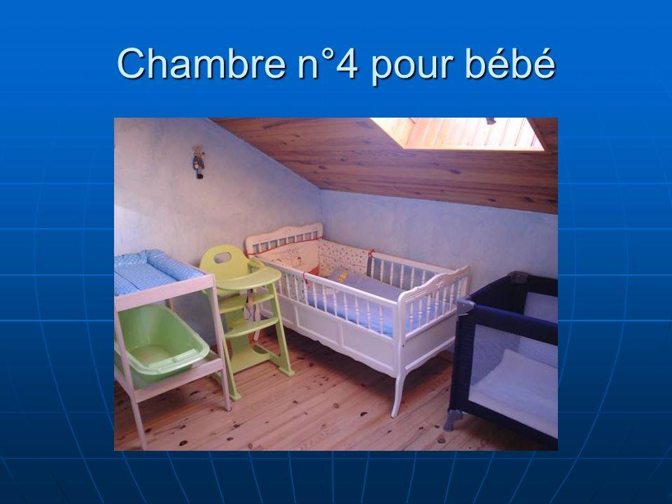 Chambre n°4 pour bébé