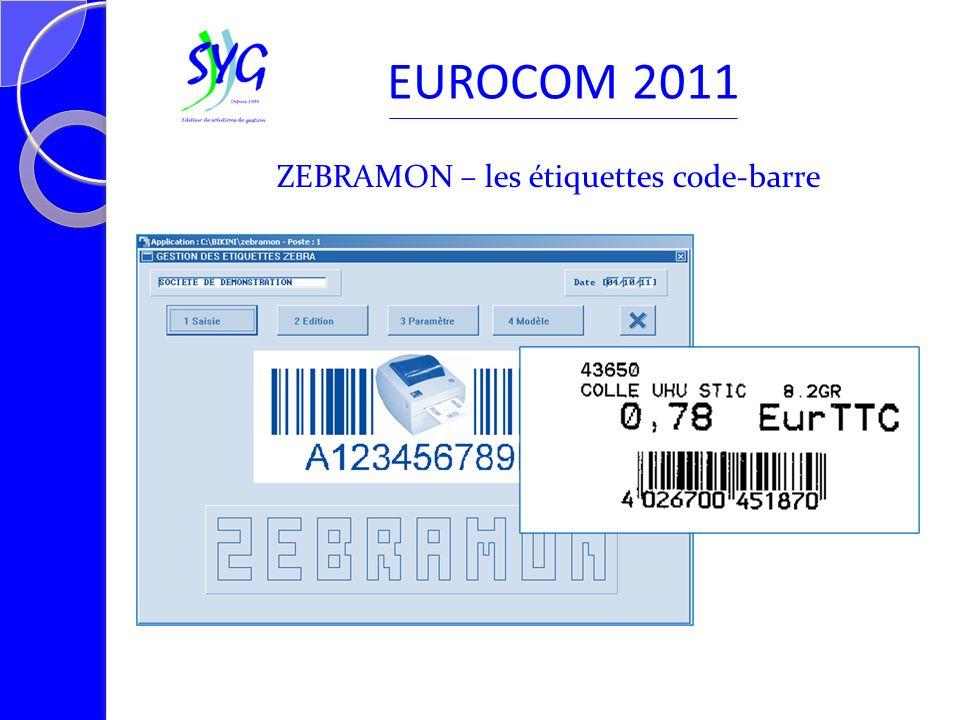 ZEBRAMON – les étiquettes code-barre EUROCOM 2011