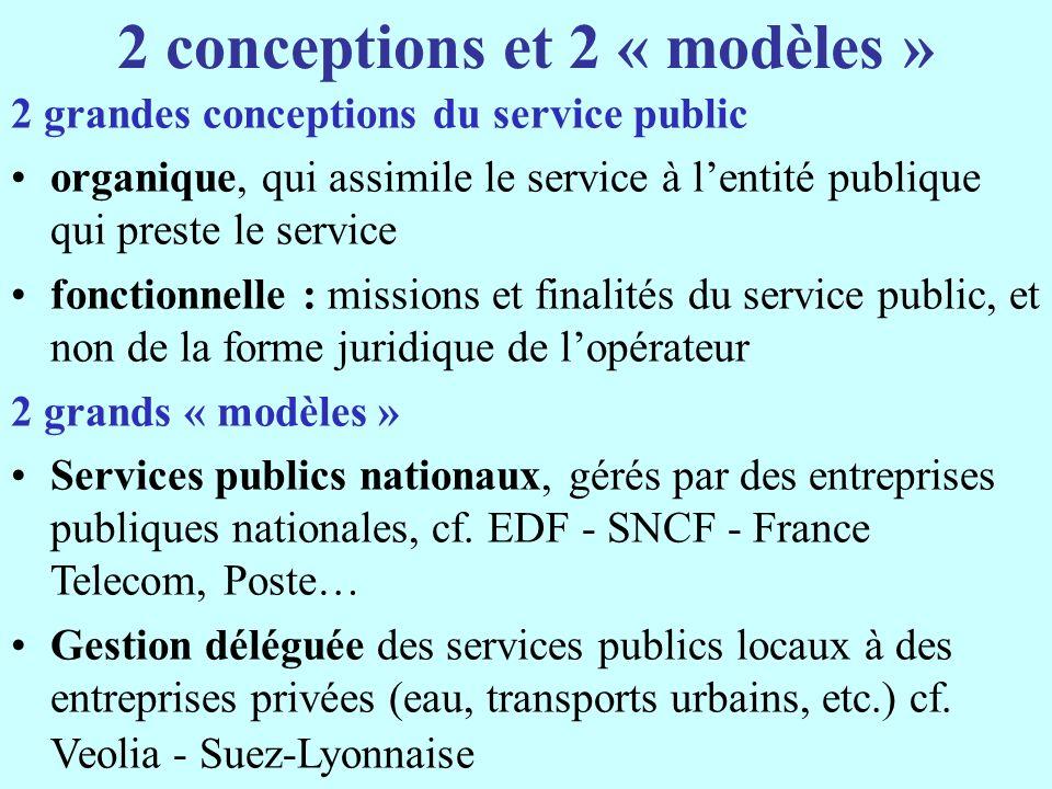 L « acquis communautaire » 1.les Etats membres (et les autorités nationales, régionales et locales) ont la compétence générale pour définir, « fournir, faire exécuter et organiser ».