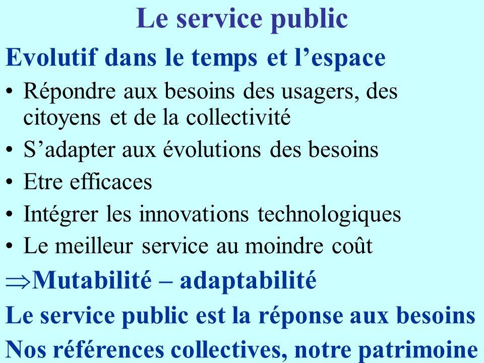 Le « carré magique » des Services publics Cohésion économique sociale territoriale environnementale OSP droit daccès solidarités long-terme SP Subsidiarité Compétences chaque niveau Marché intérieur concurrence