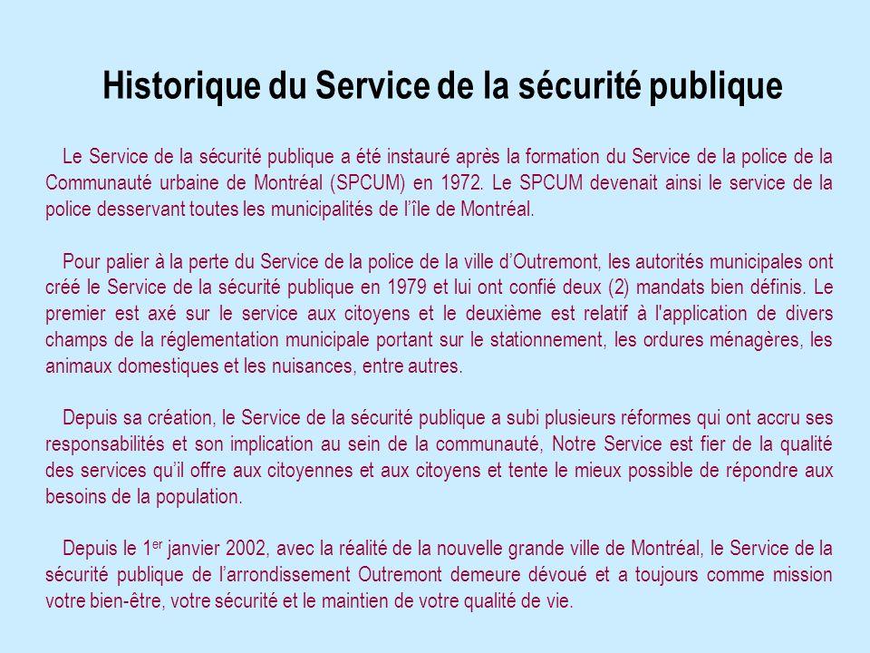 1431, avenue Van Horne Outremont (Québec) H2V 1K9 (514) 495-6241 FAX: (514) 495-7478 Courriel: securitepublique.outremont@ville.montreal.qc.ca