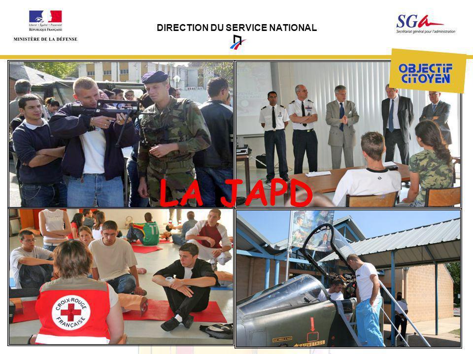 DIRECTION DU SERVICE NATIONAL LA JAPD
