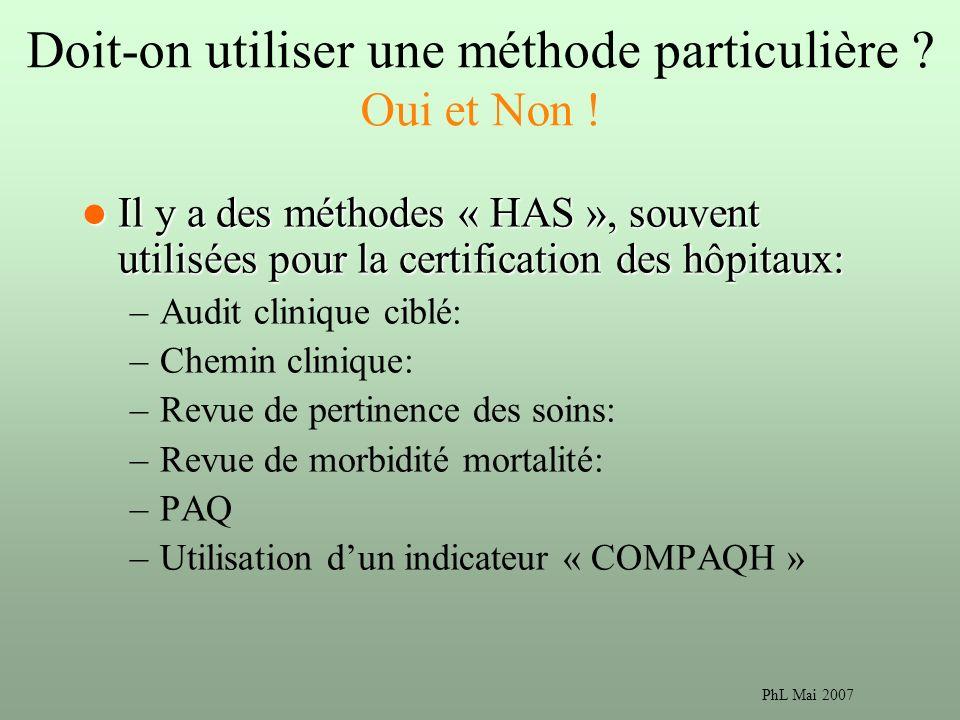 PhL Mai 2007 Doit-on utiliser une méthode particulière .