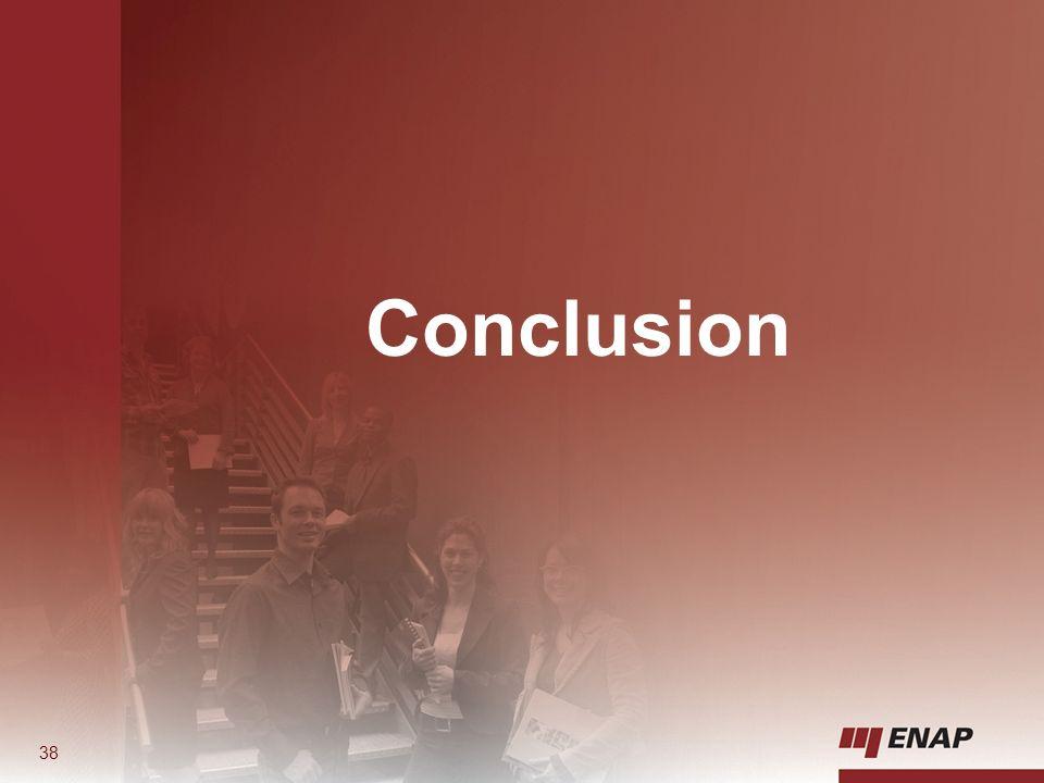 Conclusion 38