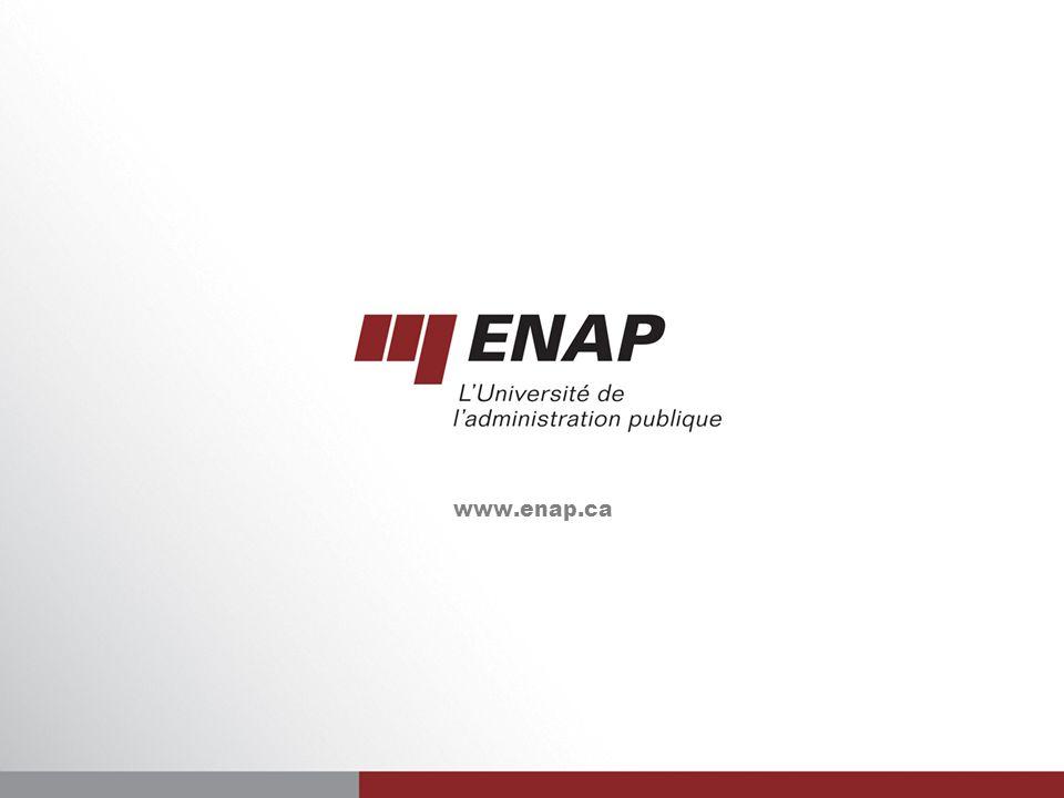 41 www.enap.ca