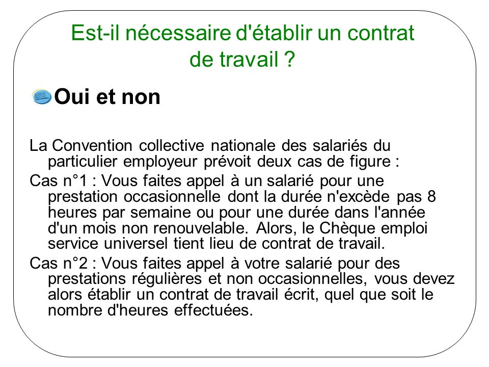 a convention collective nationale du particulier employeur (n° 3180)