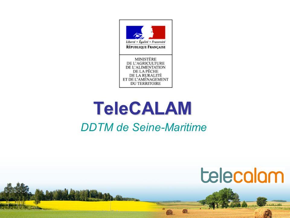 1 TeleCALAM DDTM de Seine-Maritime