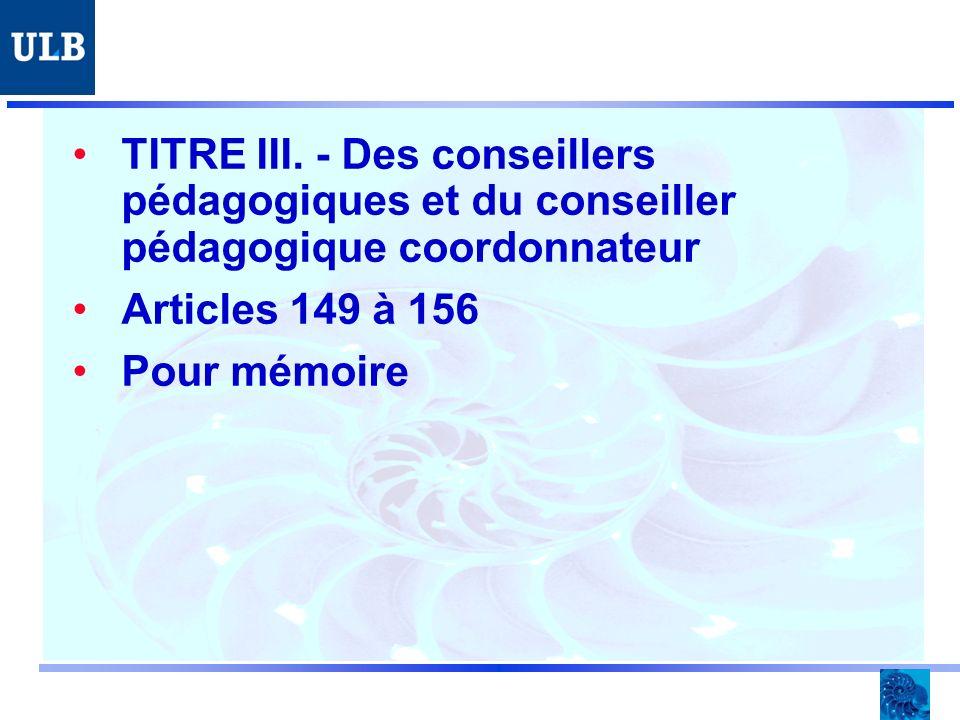 TITRE III.