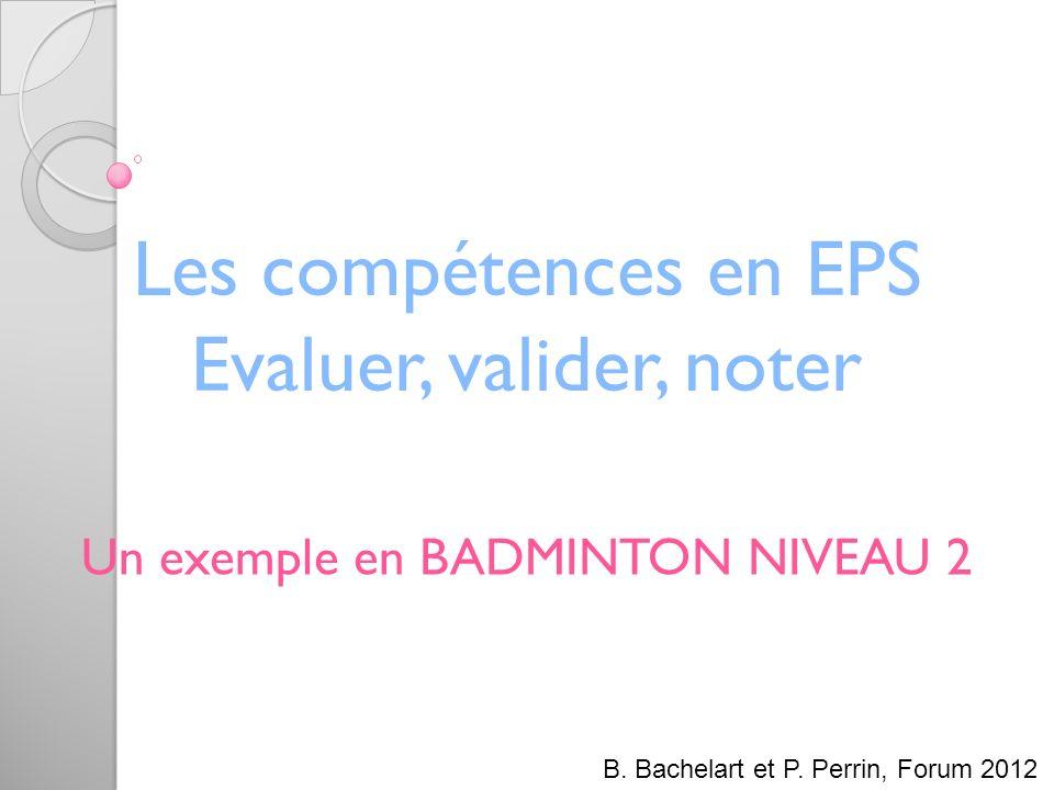 Cadre de lintervention 1) La compétence attendue de N2 en Badminton 2) Décryptage et Analyse de la Compétence attendue 3) Nos choix didactiques pour la construction de la FPS 4) La F.P.S.