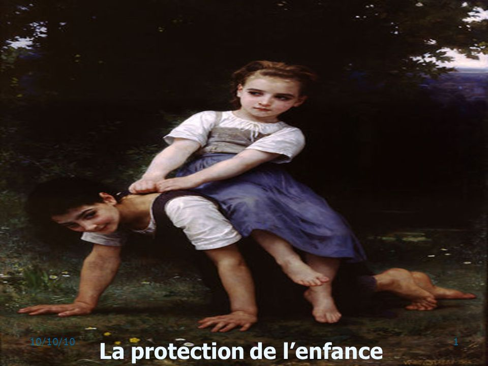 La protection de lenfance 110/10/10