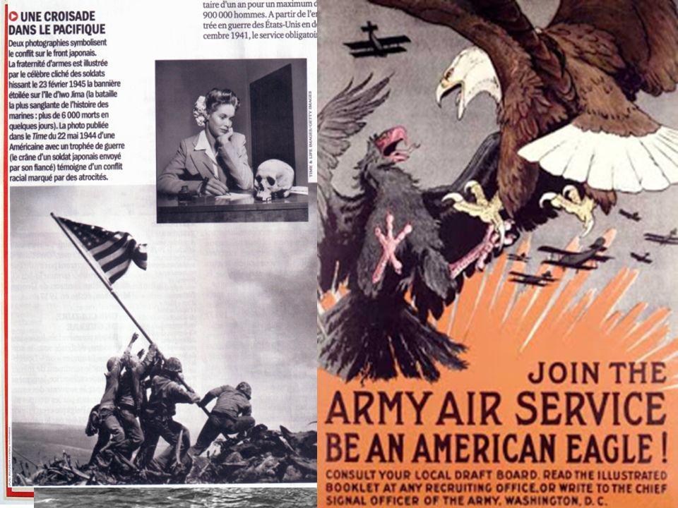 II) Une armée traversée par les inégalités qui reflètent la société américaine Larmée US reflet des discriminations raciales : longtemps considérés comme des soldats de seconde zone malgré labolition de la ségrégation dans larmée en 1948.