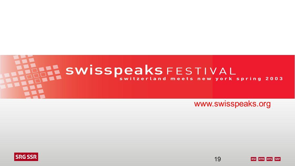 www.swisspeaks.org 19