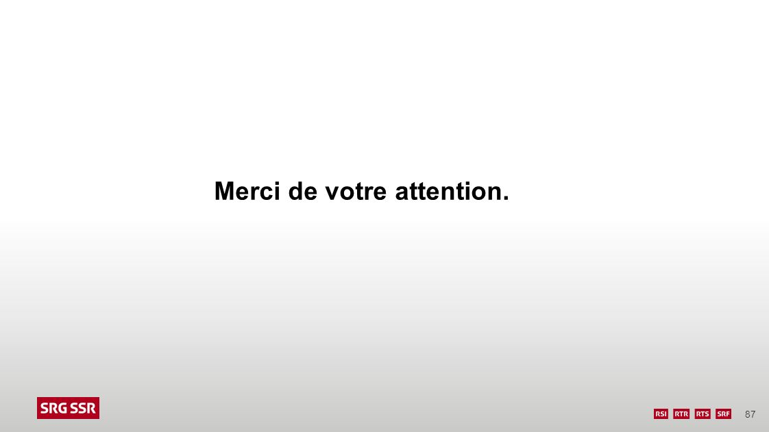 87 Merci de votre attention.