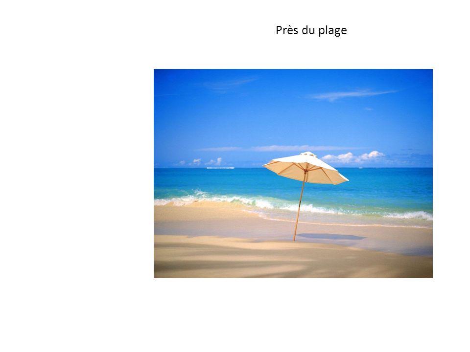 Près du plage