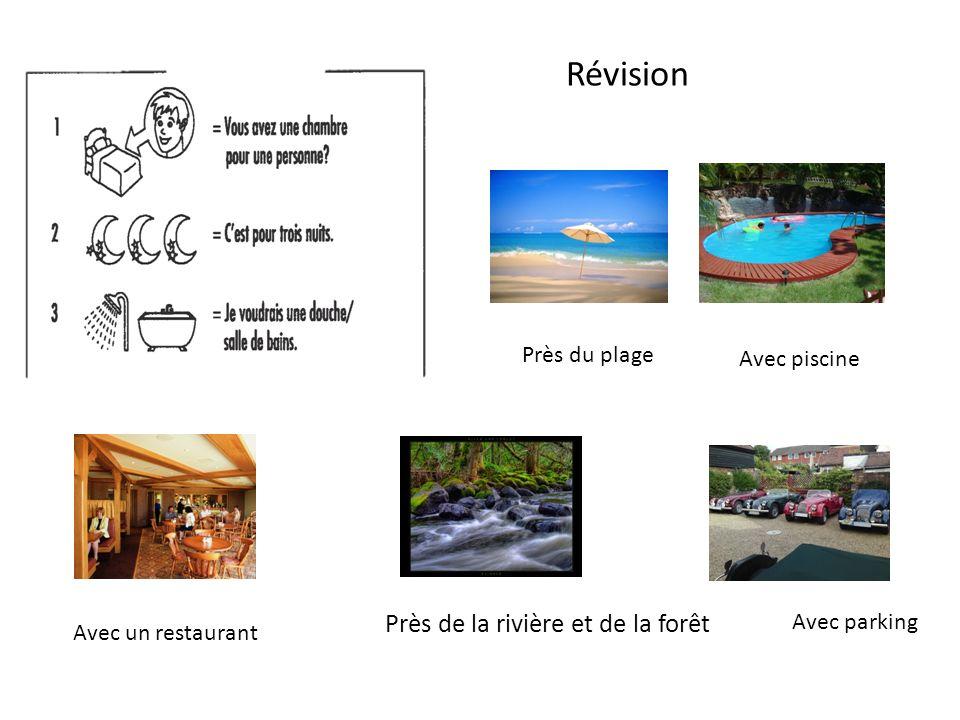 Près de la rivière et de la forêt Avec piscine Avec parking Avec un restaurant Près du plage Révision