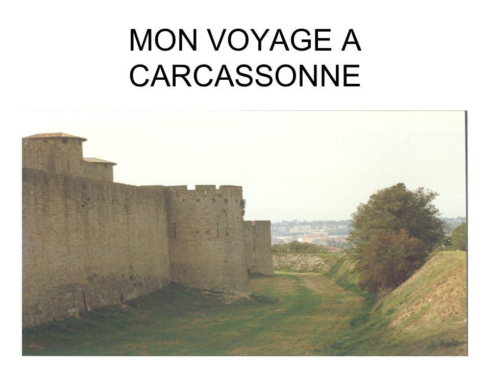 MON VOYAGE A CARCASSONNE