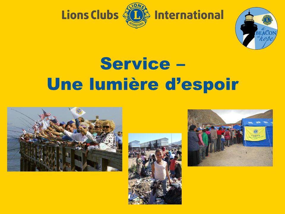Service – Une lumière despoir