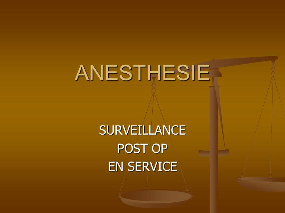 LEGISLATIF Décret du 5 décembre 1994 relatif aux conditions techniques de fonctionnement des établissements de santé en ce qui concerne la pratique de lanesthésie.