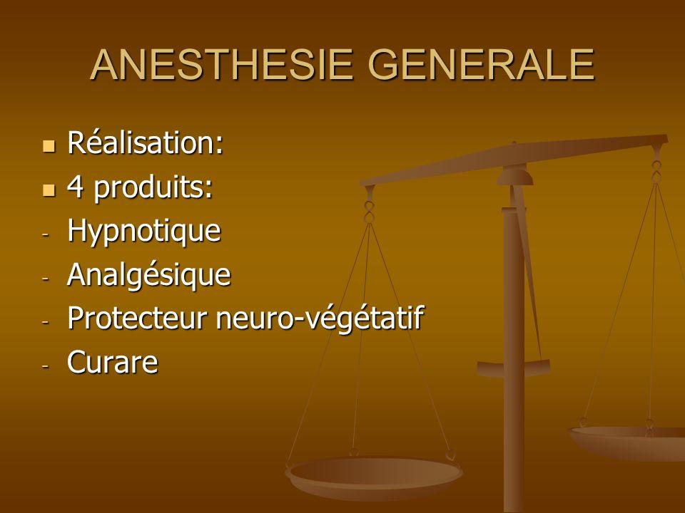 RACHI ANESTHESIE Introduction dune aiguille dans le canal rachidien pour administrer directement un anesthésique dans le LCR afin dinsensibiliser la partie inférieure du corps.