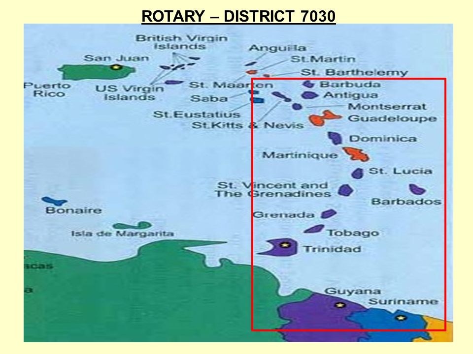 ROTARY – DISTRICT 7030