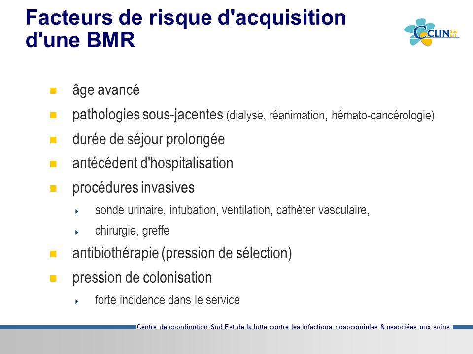 Centre de coordination Sud-Est de la lutte contre les infections nosocomiales & associées aux soins Attention dates .